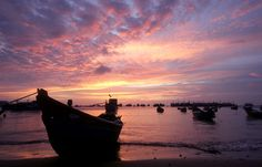 Vung Tau  - Vietnam Beach at Sunset #zimmermanngoesto