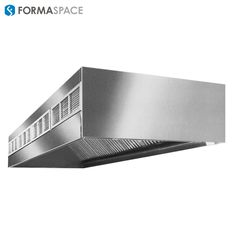 Stainless Vent | FORMASPACE | Exhaust ventilation.