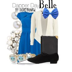 A fashion look from February 2013 featuring cut out dress, white jacket and black flat shoes. Browse and shop related looks.