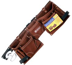 Construction Tool Belt Electrician Bag Contractor Storage Carpenter Pouch