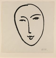 Henri Matisse | Large Face (Mask) | The Met