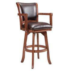 Bar stool with arms