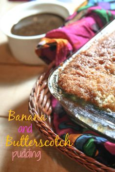 Banana and Butterscotch Pudding, need I say more? Proof Of The Pudding, Butterscotch Pudding, Banana Dessert, Banana Bread, French Toast, Breakfast, Desserts, Food, Caramel Pudding