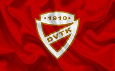 Download wallpapers Diosgyori VTK, Hungarian football team, Diosgyori emblem, logo, Miskolc, Hungary, football, Hungarian football league