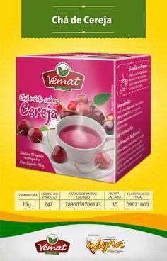 Chá Vemat de Cereja 13gr