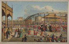 Coronation procession.
