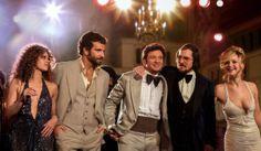 """""""American Hustle"""" David O. Russell / El diseño de producción, Ch. Bale, el montaje. ♥"""