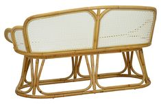 The Tulip Bench from Selamat Designs would be a great coastal addition to your home. The design of this coastal piece makes it a statement piece for years to come. The rattan paired with the white finish makes for a quality piece of furniture. Office Accessories, Modern Lighting, Rattan, Tulips, Teak, Home Furniture, Bamboo, Upholstery, Bench