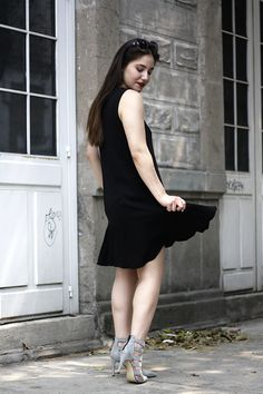 Fashion Blogger Style + Spring Summer Outfit Ideas + Black Dress