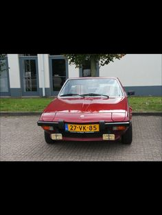 Fiat x 1/9 Bertone 1978