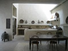Another design of kitchen thai i love. Rustic touch. -Location-Morocco.