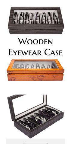 oyobox lacquered wood eyewear case christmas gifts for husbandunique