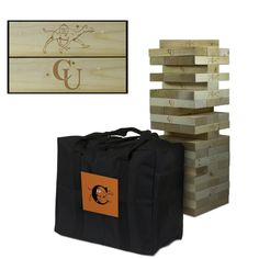 Giant Tumble Tower Game - Campbell Fighting Camels