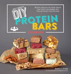 DIY Protein Bars Cookbook