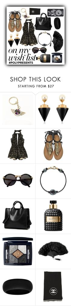 """""""#PolyPresents: Wish List"""" by nova5ta5ia ❤ liked on Polyvore featuring Vita Fede, Roberto Cavalli, Cartier, Valentino, Christian Dior, Revé, Chanel, contestentry and polyPresents"""