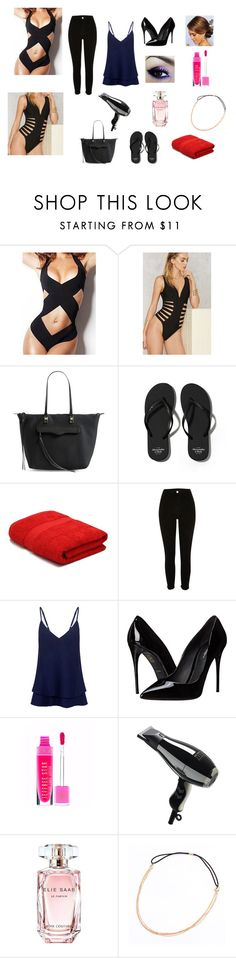 """""""pool day before and after"""" by sarah4ever123 ❤ liked on Polyvore featuring Rebecca Minkoff, Abercrombie & Fitch, M&Co, C/MEO COLLECTIVE, Dolce&Gabbana and Elie Saab"""