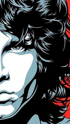 The Doors Jim Morrison poster Rock Posters, Band Posters, Arte Pink Floyd, Rock And Roll, Wallpaper Bonitos, Digital Foto, The Doors Jim Morrison, Jim Morrison Poster, Posca Art