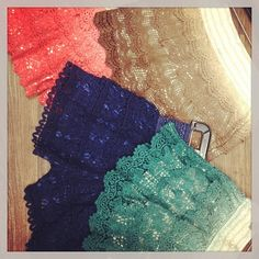 Crochet Lace Shorts... I still wanna take lace and old soffee's and make some of these...