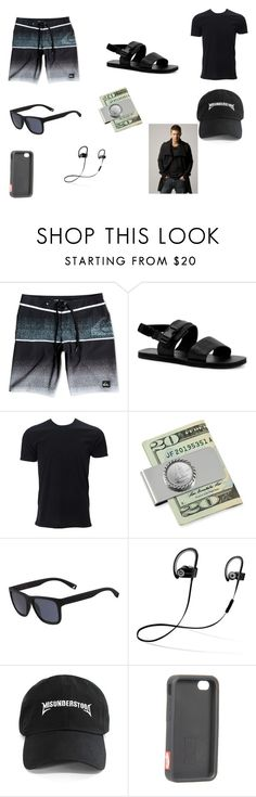 """""""Picnic with Karen"""" by shriquinn on Polyvore featuring Quiksilver, Topman, American Coin Treasures, Lacoste, Beats by Dr. Dre, Entree Lifestyle, Vans, men's fashion and menswear"""