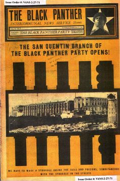 The Black Panther (February 27, 1971)  The San Quintin Branch of The Black Panther Party Opens!