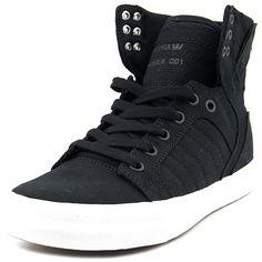 bad44bc1b4cc Supra Supra Skytop Round Toe Canvas Skate Shoe