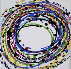 """Saatchi Art Artist Astrid Stöppel; Painting, """"Colorful minis 5!"""" #art"""