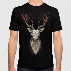 >> Click to Buy << Summer New Arrivals t-shirt men Deer tree short O neck  Cotton funny tees homme Clothing #Affiliate