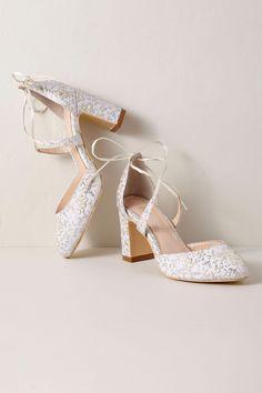 4cd710c2fa8a Bella Belle Sadie Block Heels from  BHLDN  bridalshoes Wedding Shoes Block  Heel
