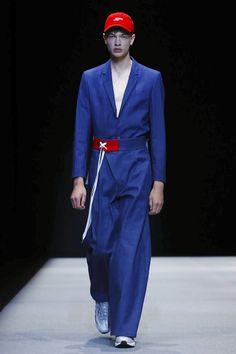 Munsoo Kwon Fashion Show Menswear Spring Summer 2018 Collection