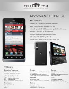 Motorola runs on Android OS … Cell Phone Prices, Product Brochure, Android, Books, Reading, Libros, Book, Reading Books, Book Illustrations
