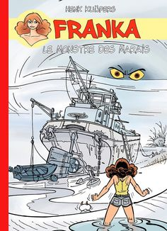 Franka, Tome 3-4-6-22, Pack 4ème Série version Presse | BD Must éditions