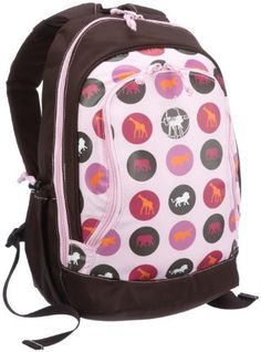 Lassig Mini Backpack, Big Savannah Print Pink by Lassig. $34.50. From the Manufacturer                Kids will enjoy putting their school supplies in this cute, sturdy backpack. With extra pockets and padded shoulder straps, the Mini Backpack is an adorable backpack for little ones. Free of PVC, nickel, AZO dyes, cadmium, and phthalates, Lassig uses only safe materials in their products.                                    Product Description                Mini Backpack Big