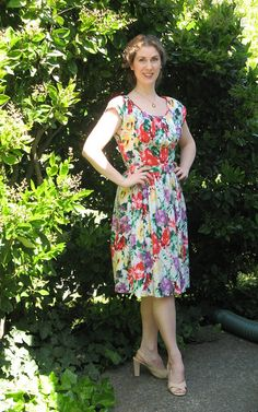 Dress - Vintage Vogue 8728