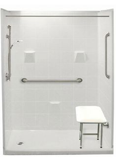 Freedom Easy Step Showers | Walk in Showers | Easy Access Walkin Shower Stalls