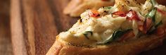 Crab Crostini Recipe | Gourmet Recipes | The Fresh Market