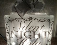 Popular items for lighted glass block on Etsy