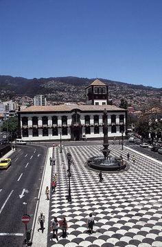 Municipal Square ~ Funchal, Madeira