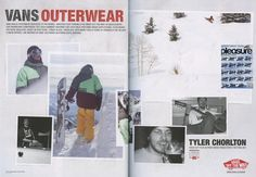 Pleasure - German Austrian Magazine - Tyler Chorlton_Vans Ad - Snowboard Team - March12