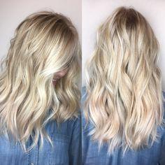 Blonde hair. INSTAGRAM @hair_mechanicaz.