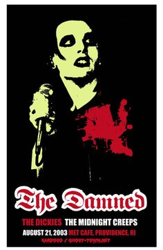 Show Posters - The Damned