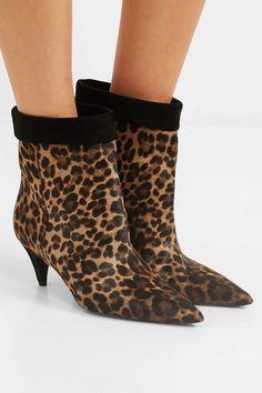 leopard print ankle boot heels met de beste prijs