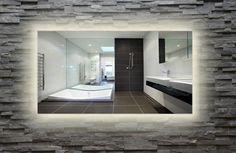 led rand achter badkamerspiegel - Google zoeken