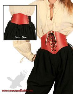Belt Cinch Leather Waist Cincher
