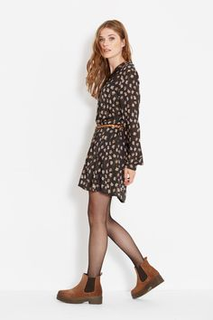 Outfits Primavera, Fall Winter, Autumn, Street Style Looks, Tight Dresses, Winter Outfits, Tights, Girly, Fresh