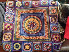 Вязание крючком методом накладки (Overlay Crochet) - Главное ввязаться