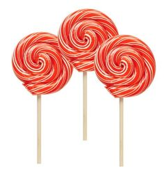 Cinnamon Lollipop, Pack of 3 - 1 Oz, Hammonds Candy Handmade, Red White Stripe Hammond's Candies http://www.amazon.com/dp/B00BDSHK1U/ref=cm_sw_r_pi_dp_gBCRvb1ZR6MKN