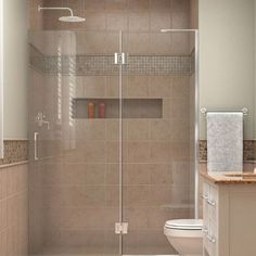 "DreamLine Unidoor-X 50"" x 72"" Hinged Shower Door Trim Finish:"