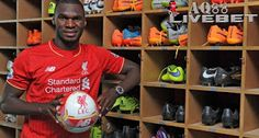 Liverpool unveil new signing Christian Benteke at Melwood Training Ground on July 2015 in Liverpool, England. (Photo by John Powell/Liverpool FC via Getty Images) Liverpool Players, Liverpool Fc, Liverpool England, Best Football Team, Football Fans, Hjk Helsinki, West Brom, Number 9, Steven Gerrard