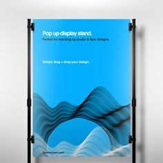 Free Pop Up Display Stand Mock Up Template Booth Design, Flyer Design, Exhibition Display Stands, Poster Display, Banner Stands, Free Photoshop, Presentation Design, Pop Up, Display Mockup