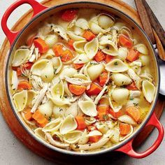 Pasta Recipes, Soup Recipes, Healthy Recipes, Confort Food, Good Food, Yummy Food, Meals For The Week, Soup And Salad, Main Meals